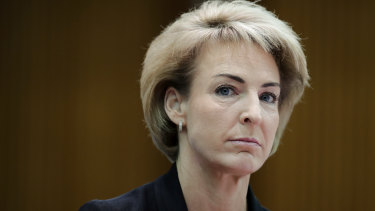 Small Business Minister Michaelia Cash took six weeks to provide a two-paragraph response to the AFP.