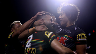 Shooting for 11 straight ... The Penrith Panthers.