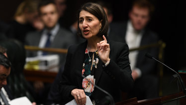 "The Berejiklian government plans to introduce a ""Zoe's Law"" bill."