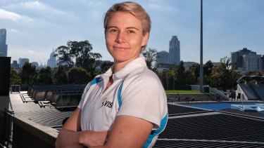 Australian athlete Kath Mitchell (pictured) and her partner Uwe Hohn have been through a particularly trying period during COVID-19.