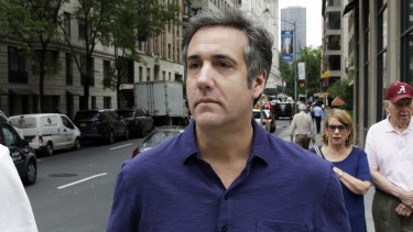 Michael Cohen, former lawyer for President Trump.