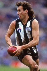 A generation of footballers grew up wanting to be like Peter Daicos.