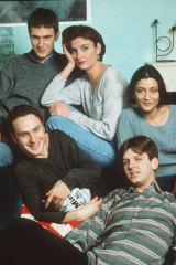 <i>This Life</i>'s Jack Davenport, Daniela Nardini, Amita Dhiri, Jason Hughes and Andrew Lincoln.