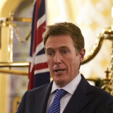 Attorney-General Christian Porter released a draft religious discrimination bill in Sydney in August.