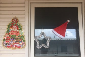 Christmas at the Howard Springs quarantine hotel in Darwin.