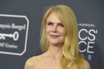 Nicole Kidman is using the quarantine time for pre-production of an upcoming project.