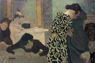 The Vine-pattern Dress by Edouard Vuillard, 1891.