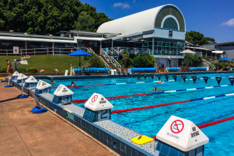 A ventilation outlet for the Metro West rail line has been proposed for a grassed area at the Leichhardt Park Aquatic Centre.