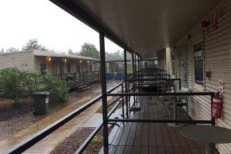 The Howard Springs quarantine facility.