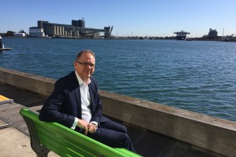 Port of Newcastle chief executive Craig Carmody says the company must transition away from coal before it's too late.