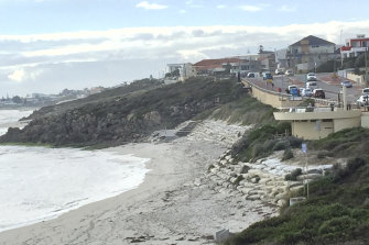Beach erosion has lately been a pressing issue for parts of Perth.