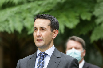 LNP leader David Crisafulli says the party's members are crying out for changes.