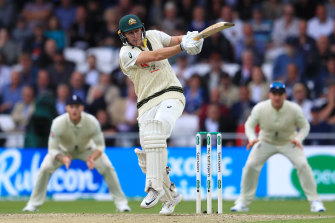 Marnus Labuschagne was a bright light for Australia at Headingley in the first innings.