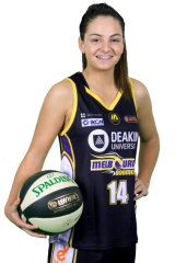 Melbourne Boomers guard Monique Conti continues to balance WNBL and AFLW.