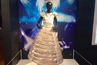 The dress Kate Miller-Heidke wore during her successful audition to be Australia's entry for the 2019 Eurovision Song Contest.