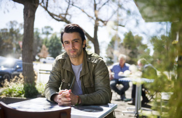 Actor and screen writer Nathan Spiteri was first abused at the Queanbeyan pool.