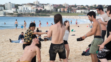 Bondi Beach this week.