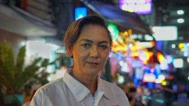 Pauline Ngarmpring is running for the Thai prime ministership.