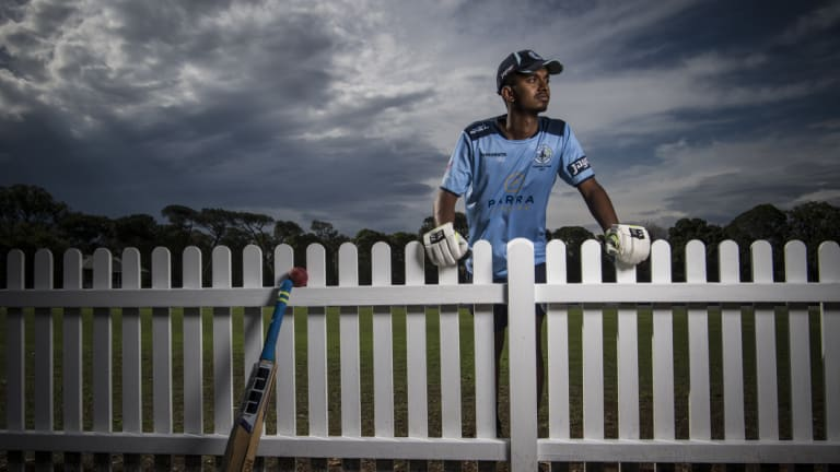 """""""I learnt my speech by naming the world's top cricketers."""": Austin Philip."""