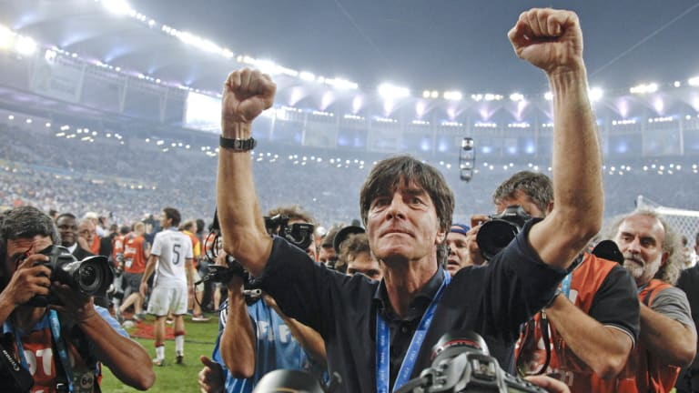 Germany's head coach Joachim Loew after the 2014 triumph.