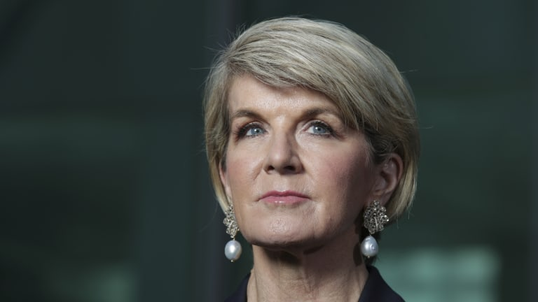 Former foreign minister Julie Bishop says she will run again in the seat of Curtin.