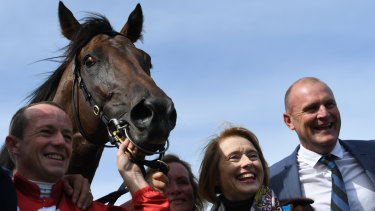 Gai Waterhouse-trained Runaway has drawn barrier 12 in the Cup.