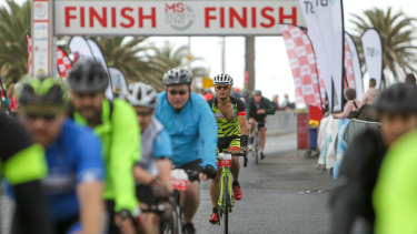 This year's ride is sold out, with the event capped at 10,000 cyclists.