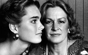 Brooke with her mother, Teri, in 1973.