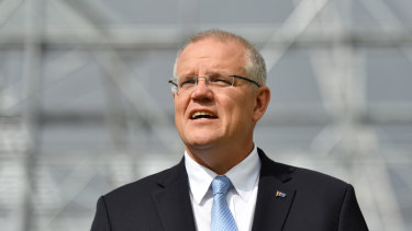 Prime Minister Scott Morrison said the Coalition had improved the budget in part by keeping taxes under control.