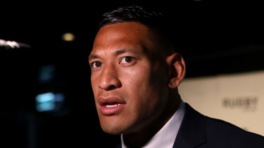 Folau is reportedly in talks regarding a switch to the Queensland Reds next season.