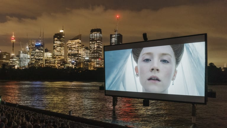 'Mary Queen of Scots' opened the 2019 St. George OpenAir Cinema season on Tuesday night.