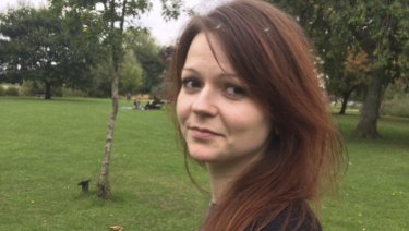 The nerve agent is believed to have been concealed in Yulia Skripal's suitcase.