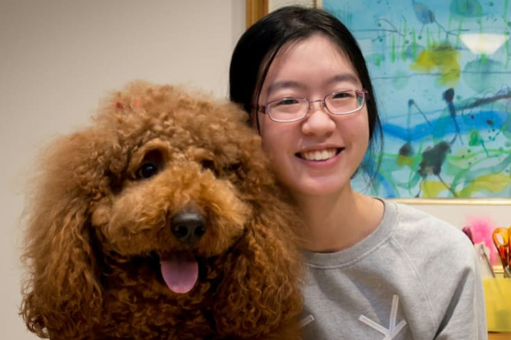 The St. Hilda's graduate devotes her time between volunteering, studying and spending time with family and her dog. She got the Beazley call while doing interviews for medicine in Sydney.