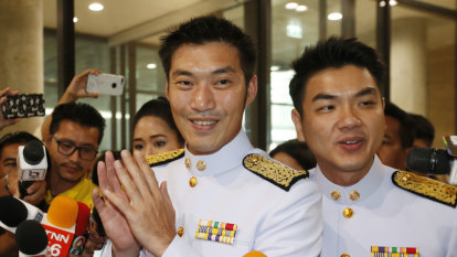 A bold voice on the sidelines at Thailand's new Parliament