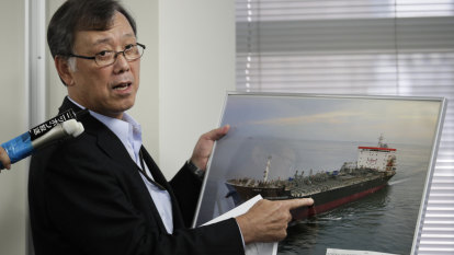 Japanese ship owner contradicts US account of how tanker was attacked