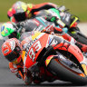 Marquez wins thrilling MotoGP as Aussie rider makes podium