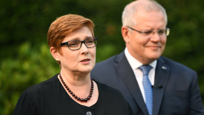 Marise Payne hits out at China's human rights record in veiled swipe