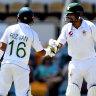 Dynamic duo Babar, Rizwan gleam in the dark