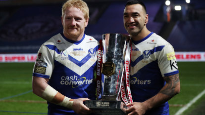 Graham retires on top as last-gasp try wins St Helens Super League grand final
