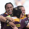 Broncos steamroll Dragons to claim second straight NRLW title
