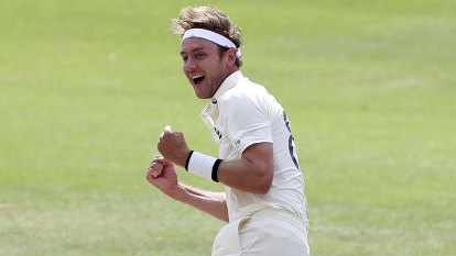 Broad grabs 500th Test scalp as England thrash Windies