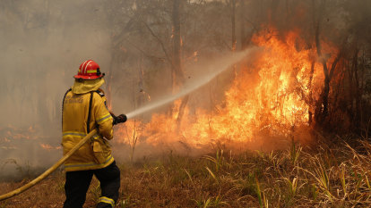 Talking about climate change is the right thing to do by bushfire victims