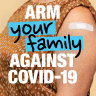 'Arm Yourself': Military chief launches new vaccination advertising campaign
