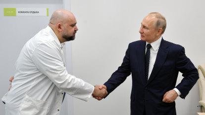Doctor who met Putin last week diagnosed with coronavirus