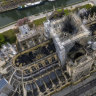 Charred, scarred, but still standing, Notre-Dame's reconstruction has experts divided