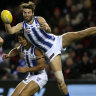 Bomber Hurley's surgery fear as Roo McDonald breaks leg