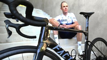 British cycling champion Chris Froome is an investor in Factor Bikes.