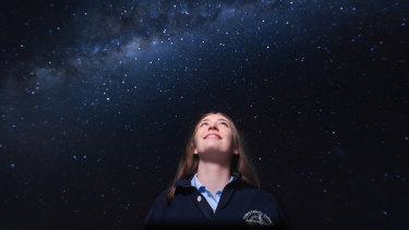 Meg Emery, aged 17, this week was published in the international Journal of Double Star Observations.