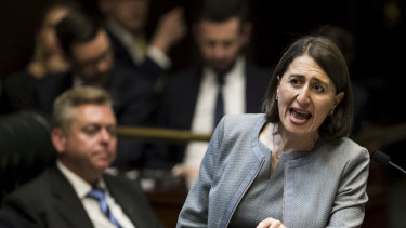 NSW Premier Gladys Berejiklian is supporting the parliamentary review of the NSW lockout laws.