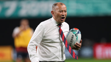 Eddie Jones' next stop could be Fiji.